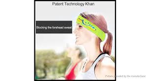 number 1 headband 35 35 niu smart bluetooth v4 1 headband sweatband sweat guiding
