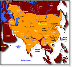 Himilayas Map The Mongolian Empire Actually Had Flying Horses To Cross The