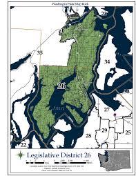 2016 Senate Map Projections by Washington U0027s 26th Legislative District Wikipedia