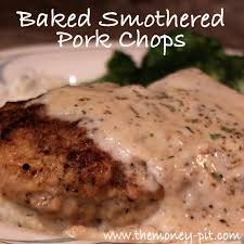 southern style smothered pork chops baked the kim six fix