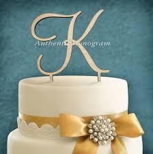 letter cake topper amonogramartunlimited single letter dollar sign wooden cake topper