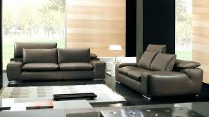canapé cuir bicolore canape cuir confortable canapac cuir bicolore blanc et taupe salon