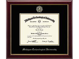 tech diploma frame 03 embossed edition gallery diploma frame michigan tech