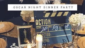 Oscar Dinner Ideas Oscar Night Dinner Party Ideas Hollywood Glam Youtube