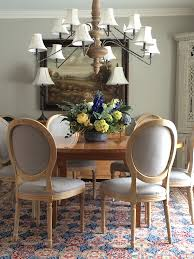 add elegance to your dining room with a round table and these