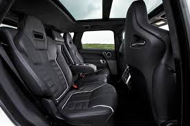 2017 Range Rover Sport Svr Interior Rear Seat Images Car Images