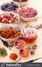 Floral Food by Picture Of Herbal Natural Floral Tea Infusion With Dry Flowers