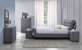 birlea sorrento 2 drawer nightstand fabric grey amazon co uk
