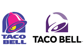 taco bell u0027s updated logo coincides with vegas strip debut cmo