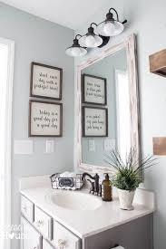 Easy Bathroom Decorating Ideas Make Your Own Farmhouse Bathroom Yourself Modern Farmhouse