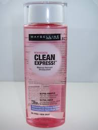 as you know maybelline is introducing a new clean express makeup remover collection