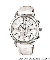 Jam Tangan Alba Putih jam tangan wanita casio sheen shn 5010l dengan tali kulit
