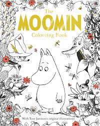 the moomin colouring book by macmillan children u0027s books