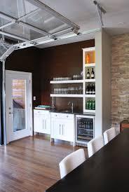 Cabinet Garage Door Garage Bar Ideas Kitchen Industrial With Wine Glass Storage White