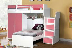 Bunk Beds With Wardrobe A Room For Your Precious One To Feel Like A Princess
