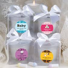 candle baby shower favors personalized candle baby shower favors