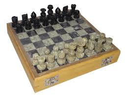 Wooden Chess Set by 8