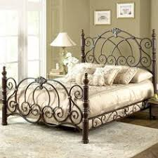 king bed frames wood and scroll dunhill wood and iron bed by