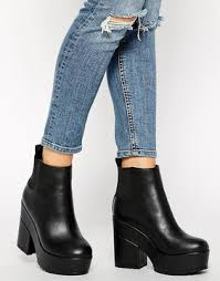 womens chelsea boots target asos easy target chelsea ankle boots 42 platform shoe trend