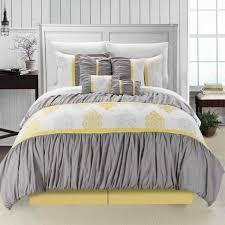 Yellow King Size Comforter Yellow And Grey Twin Comforter Set Tags Yellow And Grey