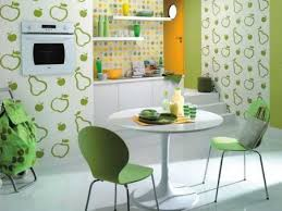 papier peint de cuisine du papier peint dans la cuisine ou pas cocon de décoration le