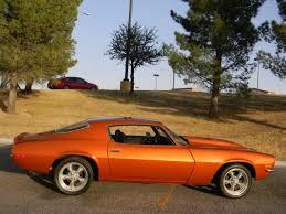 burnt orange camaro no reserve 1970 chevy camaro v8 auto 71 72 73 car