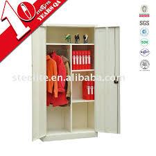 Two Door Storage Cabinet Wardrobes Metal Wardrobe Cabinet Storage Steel Wardrobe Storage