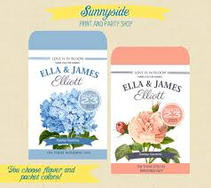 cheap seed packets in bloom printable seed packet favor template diy shower