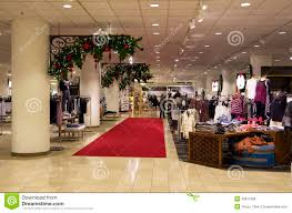 department store mall shopping tree ligh editorial image
