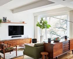 mid century modern living room ideas 11 midcentury modern living rooms photos architectural digest mid