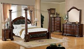 Bed Frame Sears Frame Canopy Bed Sears Com Furniture Of America Brown Cherry