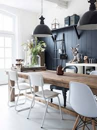 White Farmhouse Kitchen Table by Best 25 Mixed Dining Chairs Ideas Only On Pinterest Mismatched