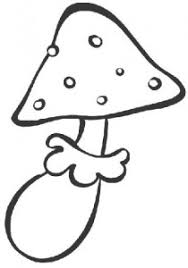 mushroom coloring page crafts and worksheets for preschool
