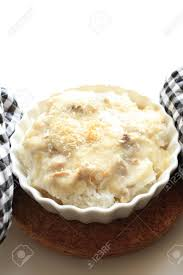 doria cuisine cuisine doria white sauce and chicken on rice stock photo