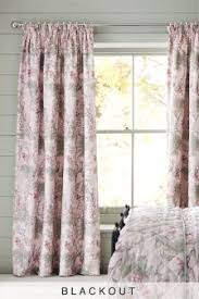Black And Fuchsia Curtains Buy Curtains And Blinds Curtains Pink Black Out Blackout From The