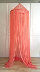 cora canap tulle bed canopy coral tulle canopy crib bed mesh canopy nursery