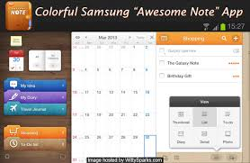 agenda apk samsung galaxy note 8 awesome note apk installed in galaxy note 2
