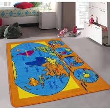 children area rugs sintechno sa world57 kids world map children area rug products