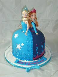 elsa u0026 anna double doll cake creative cakes by keekee