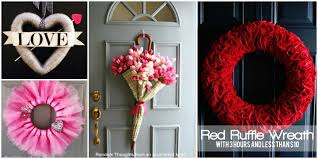 valentines day wreaths best 40 fabulous s day wreaths diy tutorials