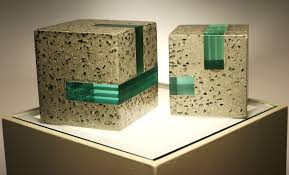 modern concrete and resin bookends set of 2 by erinalthea on etsy