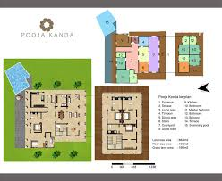 villa floor plan villa layout villa pooja kanda koggala 5 bedroom luxury villa