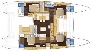 Prevost Floor Plans by Luxury Charter Yacht Arctic Queen Lagoon Sailing Yacht 2012