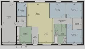 modele maison plain pied 3 chambres tendance plan maison plain pied 3 chambres gratuit 150m2 pindex co