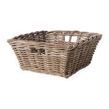 ikea baskets byholma basket gray room organizations and shelves
