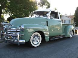 Classic Chevy Trucks Wanted - 1954 chevy 3100 pickup truck with swamp cooler attached to window