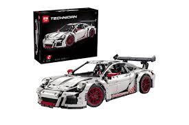 lego technic porsche 911 gt3 rs конструктор lepin 20001b porsche 911 gt3 rs аналог lego technic