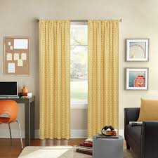 Window Curtains Rods Better Homes And Gardens Circles And Diamonds Printed Window