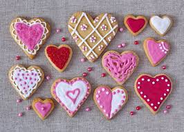heart shaped cookies pink color heart shaped cookies hd 4k wallpapers