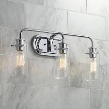 Lamps Plus Bathroom Lighting by Kichler Braelyn 3 Light 24